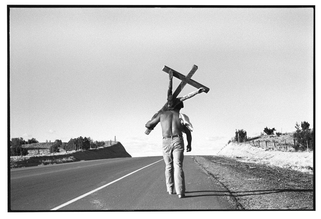 Nambé Road. 1981.