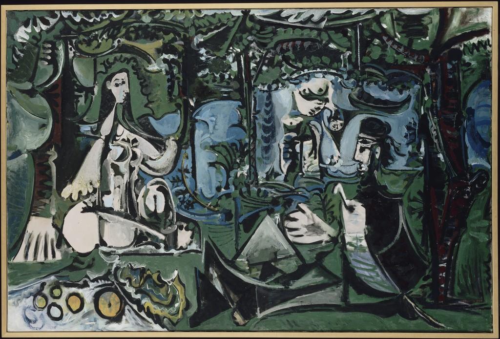 """""""Le Déjeuner sur l'herbe d'après Manet"""" (Pablo Picasso, 1960)"""