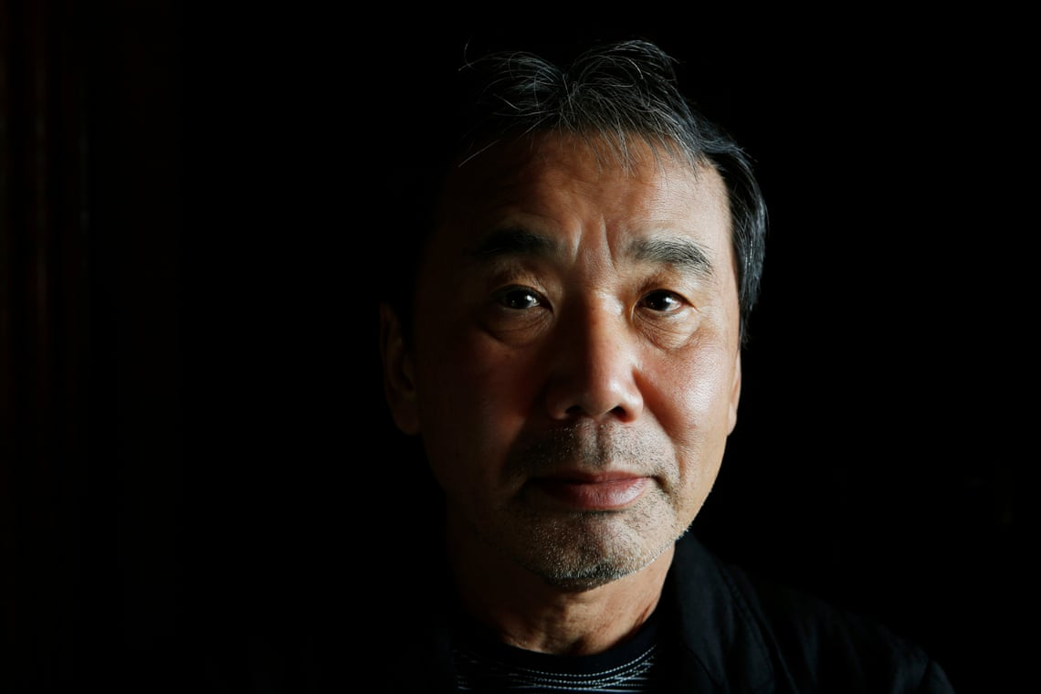 Haruki Murakami. Fotoğraf: Murdo Macleod, The Guardian